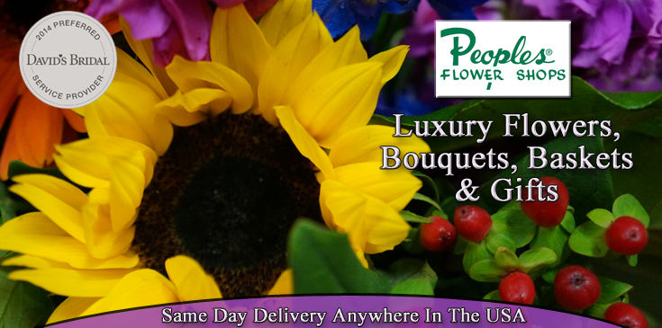 Flower Arrangements, Peoples Signature Collection, Luxury Flowers, Albuquerque Florist, Peoples Flower Shops offers same day delivery.