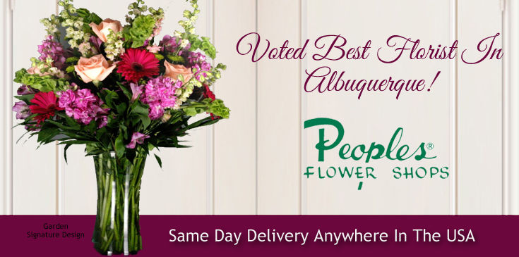 Peoples Flowers Signature Designs, Albuquerque Floral Arrangements.